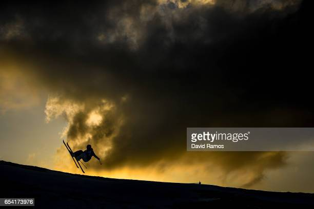 Kevin Rolland of France warms up prior to the Men's halfpipe qualification round on day 9 of the FIS Freestyle Ski Snowboard World Championships 2017...
