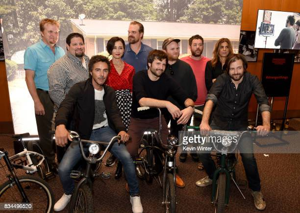 Kevin Ross editor Dean Zimmerman editor Shawn Levy director and executive producer Carmen Cuba casting director David Harbour actor Ross Duffer...
