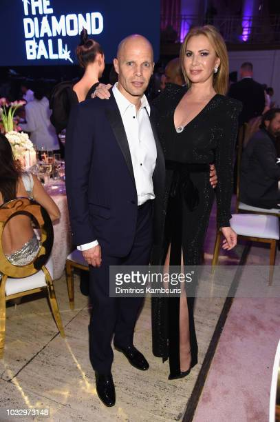 Kevin Rubinstein and Inga Rubenstein attends Rihanna's 4th Annual Diamond Ball benefitting The Clara Lionel Foundation at Cipriani Wall Street on...