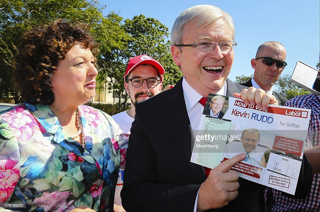 Australians Vote In The Federal Election