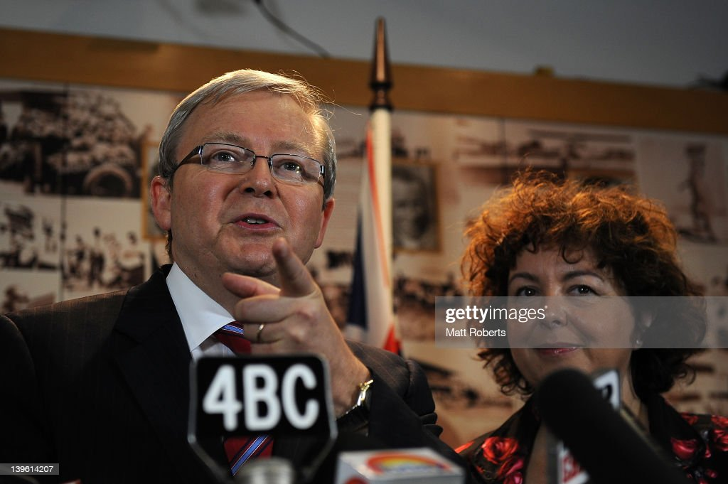 Kevin Rudd Challenges To Be Prime Minister