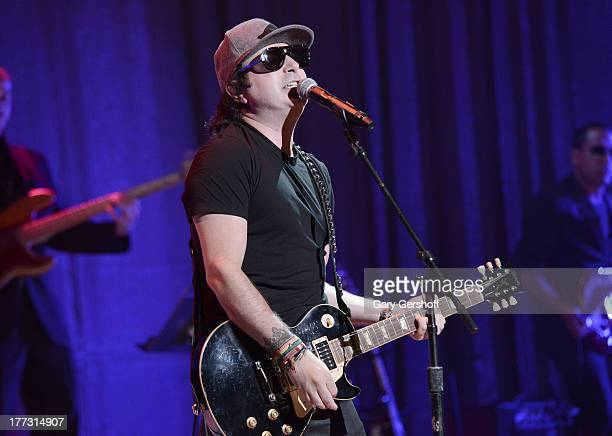 Kevin Rudolf performs onstage at the 2013 BMI RB/HipHop Award at Hammerstein Ballroom on August 22 2013 in New York City