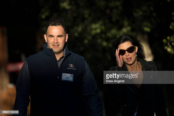 Kevin Sabet president and chief executive officer of nonprofit organization Smart Approaches to Marijuana arrives for a morning session of the annual...