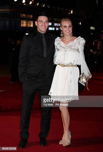 Kevin Sacre and Camilla Dallerup arriving for the world premiere of Nine at the Odeon Leicester Square London