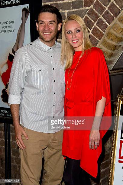 Kevin Sacre and Camilla Dallerup attends the press night of 'Blind Date' at Charing Cross Theatre on June 4, 2013 in London, England.