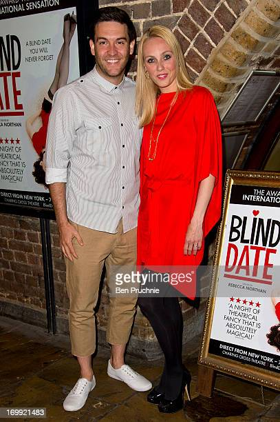 Kevin Sacre and Camilla Dallerup attends the press night of 'Blind Date' at Charing Cross Theatre on June 4 2013 in London England