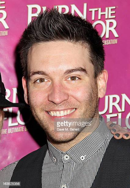 Kevin Sacre attends an after party celebrating the press night performance of 'Burn The Floor' at the Trafalgar Hotel on March 11 2013 in London...