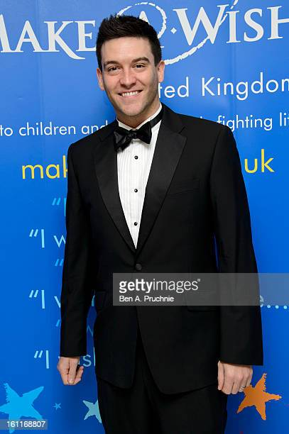 Kevin Sacre attends the MakeAWish Foundation's UK Valentine's Ball 2013 held at The Dorchester on February 9 2013 in London England