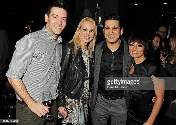 Kevin Sacre Camilla Dallerup Jimi Mistry and Flavia Cacace attend an after party following the press night performance of 'Midnight Tango' at Gaucho...