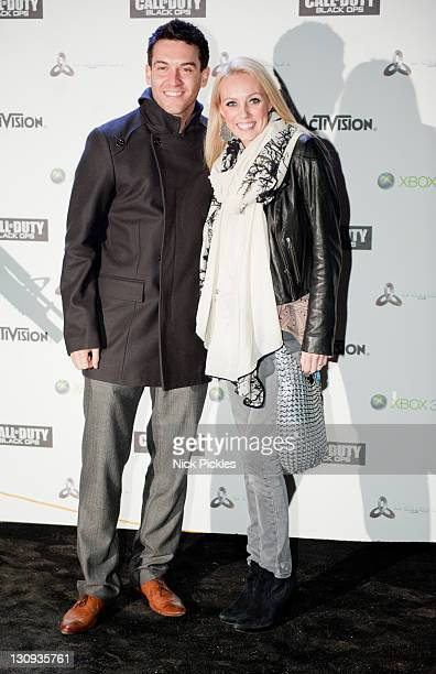 Kevin Sacre'Camilla Dallerup attend the launch of the video game 'Call of Duty Black Ops' at Battersea Power station on November 8 2010 in London...
