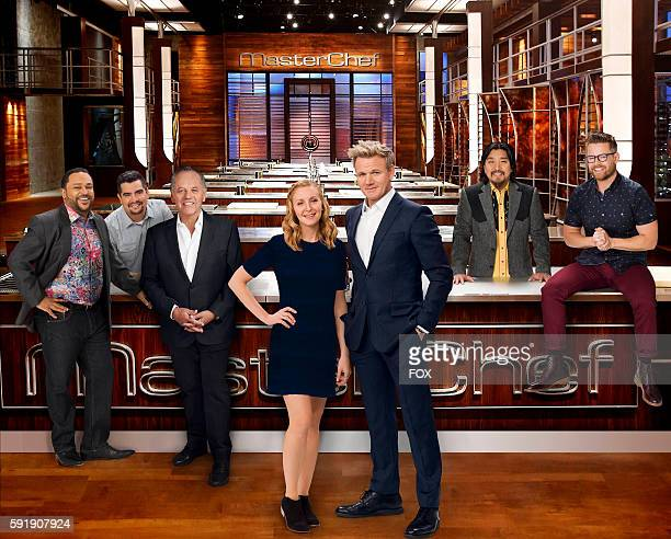 Kevin Sbraga Aarón Sánchez Wolfgang Puck Christina Tosi Gordon Ramsay Edward Lee and Richard Blais MASTERCHEF premieres Wednesday June 1 on FOX
