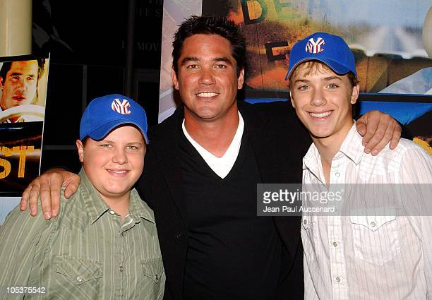 Kevin Schmidt Dean Cain and Jeremy Sumpter during Lost Premiere Arrivals at ArcLight Theatre in Hollywood California United States
