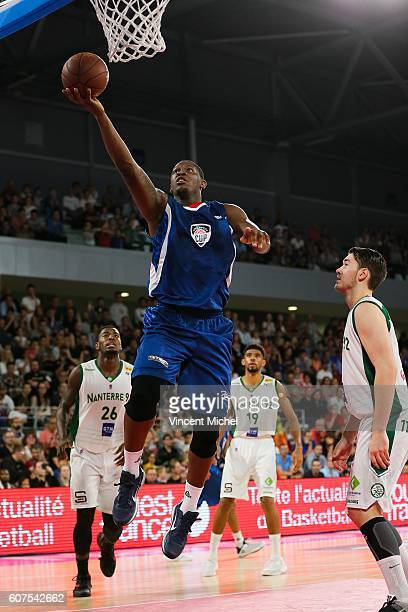 Kevin Seraphin during the Appart City Cup between Hermine Nantes and Nanterre on 18th September 2016 Photo by Vincent Michel / Icon Sport
