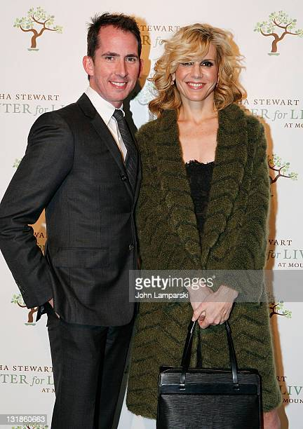 Kevin Sharkey and Alexis Stewart attend the 3rd Annual Martha Stewart Center for Living at Mount Sinai Gala at Martha Stewart Living Omnimedia on...