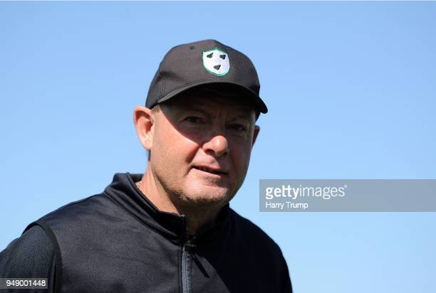 Kevin Sharp Head Coach of Worcestershire during Day One of the Specsavers County Championship Division One match between Somerset and Worcestershire...