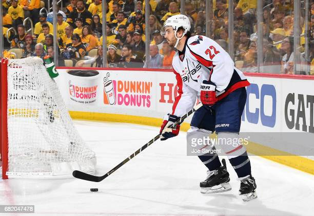 Kevin Shattenkirk of the Washington Capitals skates against the Pittsburgh Penguins in Game Six of the Eastern Conference Second Round during the...
