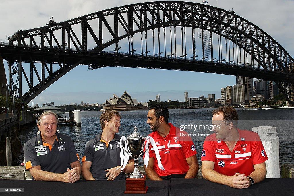 Sydney AFL Derby Trophy Launch