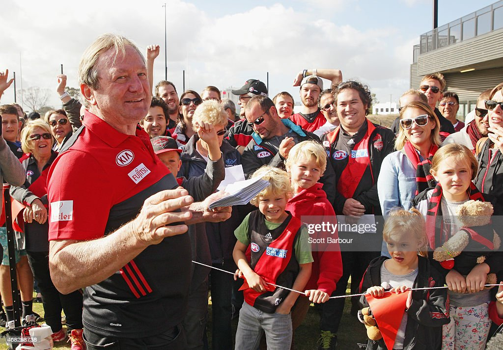 Essendon Bombers Media & Training Session