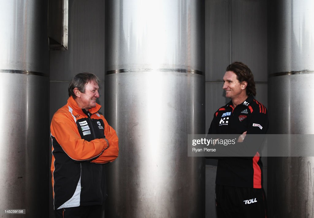 AFL: Kevin Sheedy and James Hird Media Call