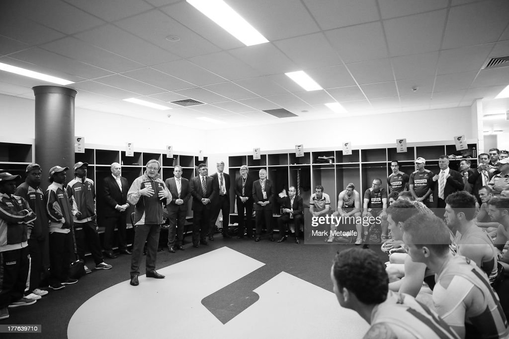 AFL Rd 22 - GWS v Richmond