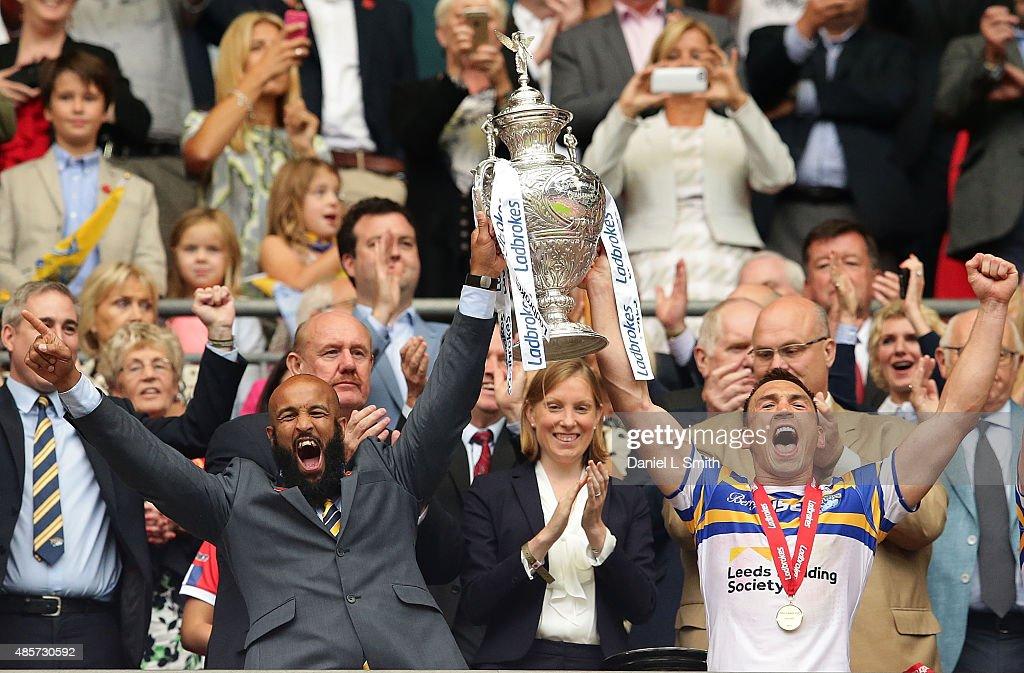 Leeds Rhinos v Hull KR - Ladbrokes Challenge Cup Final : News Photo