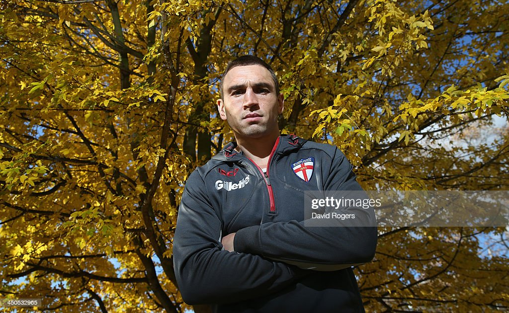 England Media Session - Rugby League World Cup : News Photo