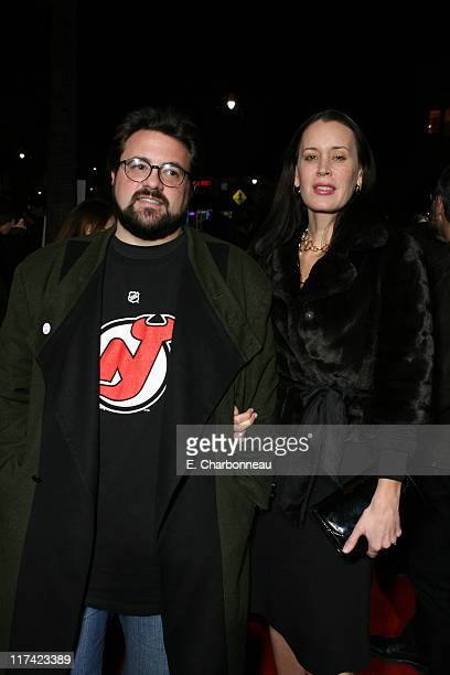 Kevin Smith and Jennifer Schwalbach Smith during The World Premiere of Columbia Pictures' Catch and Release at Egyptian Theater in Hollywood CA...