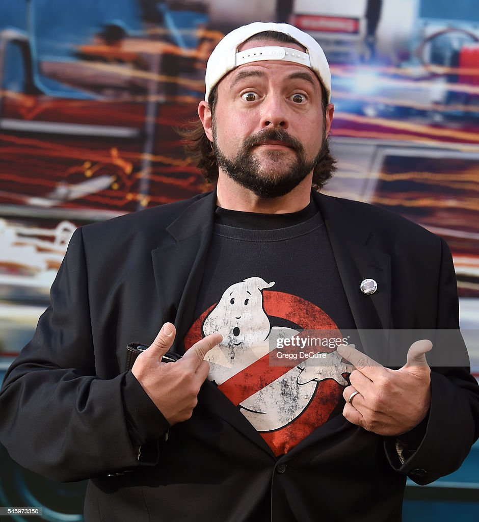 Kevin Smith arrives at the premiere of Sony Pictures' 'Ghostbusters' at TCL Chinese Theatre on July 9, 2016 in Hollywood, California.
