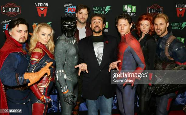 Kevin Smith arrives for Excelsior! A Celebration of The Amazing, Fantastic, Incredible and Uncanny Life Of Stan Lee at TCL Chinese Theatre on January...