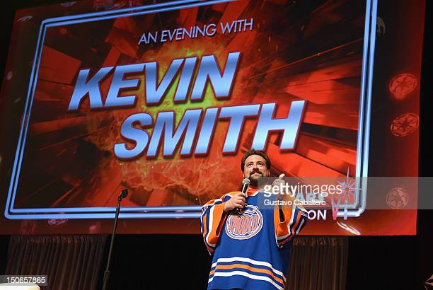 Kevin Smith attends Star Wars Celebration V at Orange County Convention Center on August 23 2012 in Orlando Florida