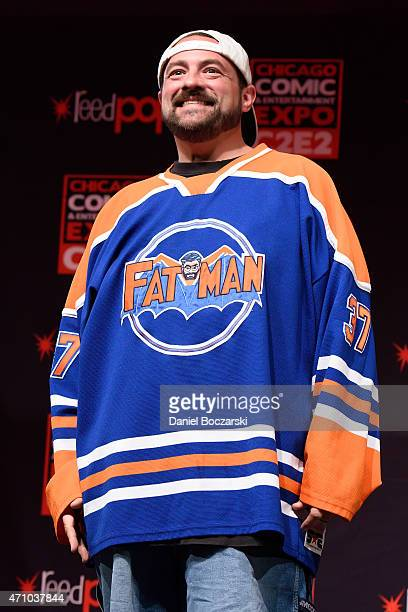 Kevin Smith attends the C2E2 Chicago Comic and Entertainment Expo at McCormick Place on April 24 2015 in Chicago Illinois
