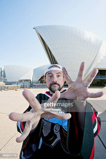 Kevin Smith during a media call at Sydney Opera House on September 18 2015 in Sydney Australia