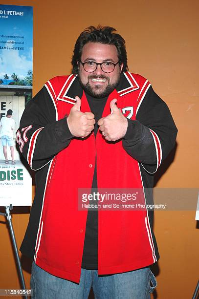 """Kevin Smith during """"Reel Paradise"""" New York City Premiere - Inside Arrivals at Tribeca Cinemas in New York City, New York, United States."""