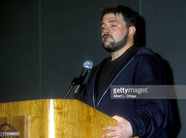Kevin Smith during The 30th Annual Comic-Con International at San Diego Convention Center in San Diego, California, United States.
