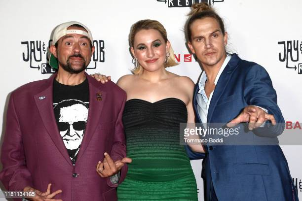 Kevin Smith Harley Quinn Smith and Jason Mewes attend the Saban Films' Jay Silent Bob Reboot Los Angeles Premiere at TCL Chinese Theatre on October...