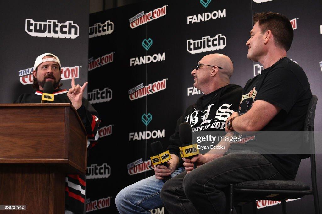 Kevin Smith interviews Greg Capullo and Scott Snyder of Dark Nights