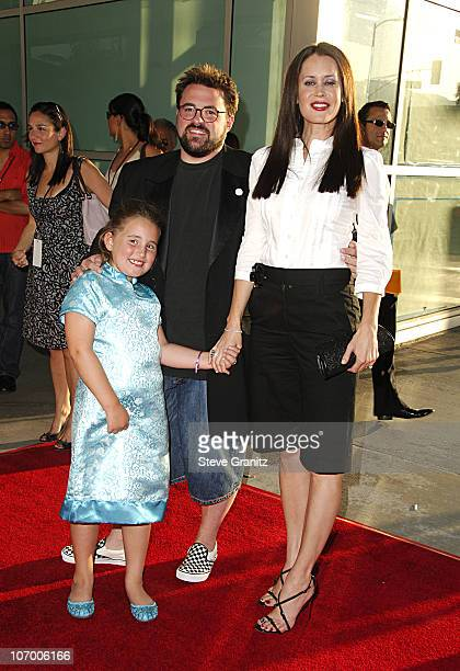 Kevin Smith Jennifer Schwalbach Smith and Daughter Harley