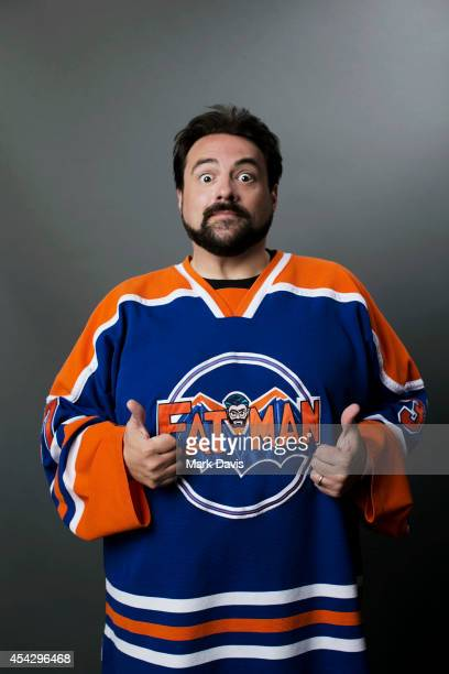 Kevin Smith poses for a portrait at The Theatre At The Ace Hotel on August 8 2014 in Los Angeles California
