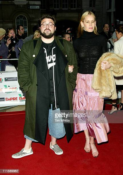 Kevin Smith winner of Independent Spirit Awards and Jennifer Schwalbach Smith
