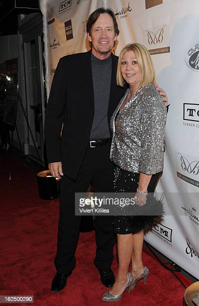 Kevin Sorbo and Nancee Borgnine attend The Borgnine Movie Star Gala at Sportsmen's Lodge Event Center on February 23 2013 in Studio City California