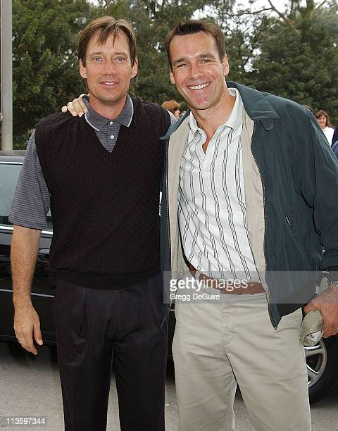 Kevin Sorbo David James Elliott during 4th Annual Elizabeth Glaser Pediatric AIDS Foundation Celebrity Golf Classic Sponsored By Mossimo MercedesBenz...
