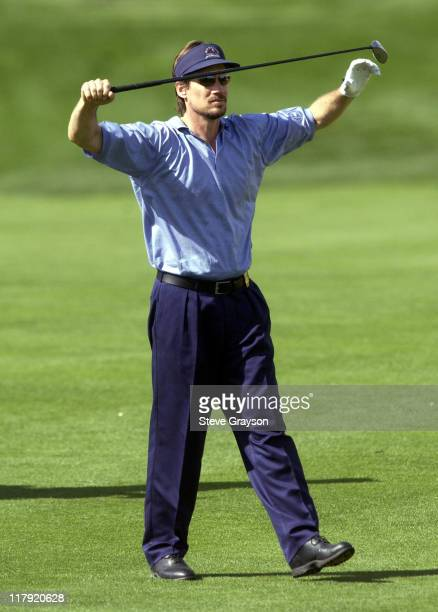 Kevin Sorbo during 44th Bob Hope Chrysler Classic Round Four at Arnold Palmer Private Course at PGA West in La Quinta California United States