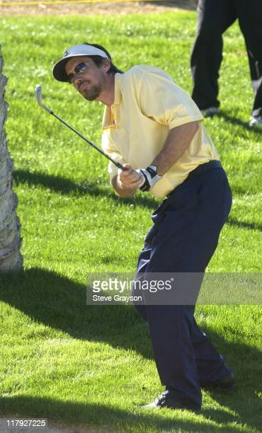 Kevin Sorbo during 44th Bob Hope Chrysler Classic Round One at Indian Wells Country Club in Indian Wells California United States