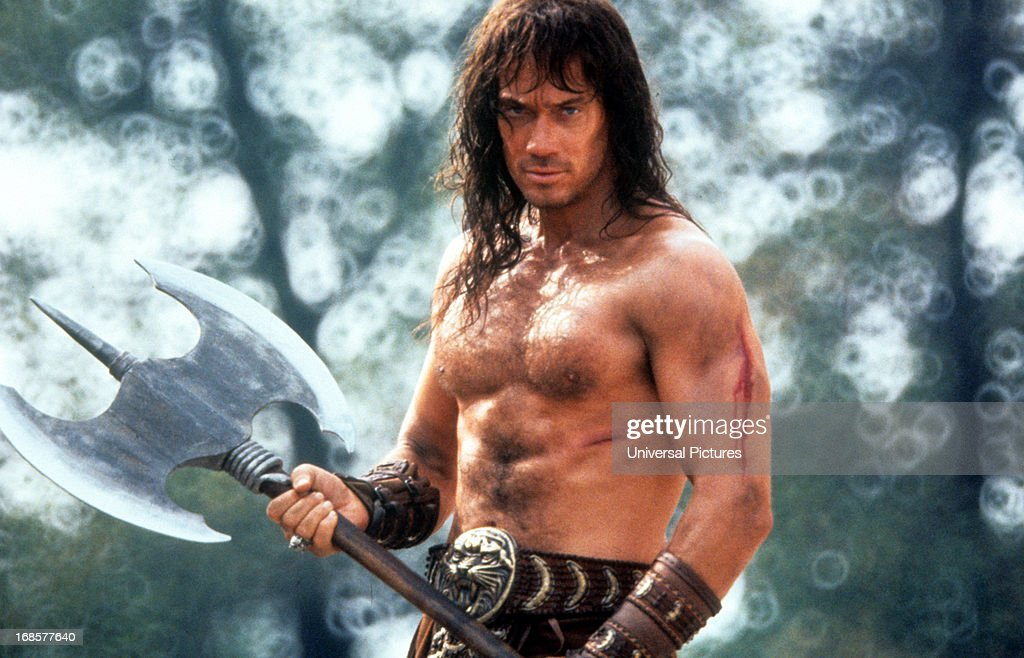 Kevin Sorbo In 'Kull The Conqueror' : News Photo
