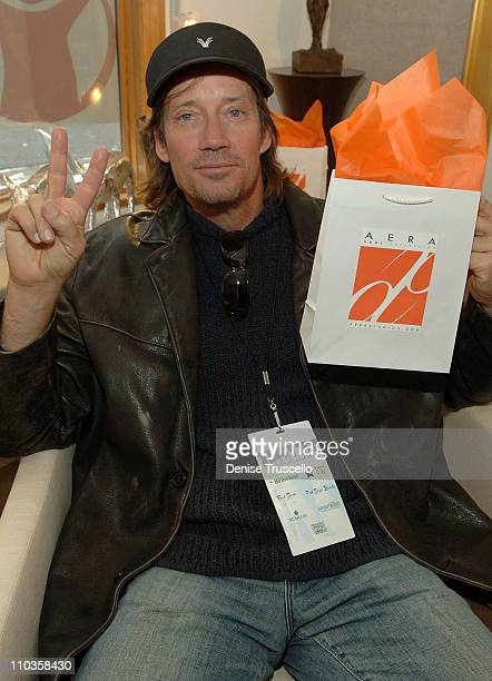 Kevin Sorbo visits the Iconix Gifting for a Cause Suite produced by Backstage Creations on January 20 2008 in Park City Utah