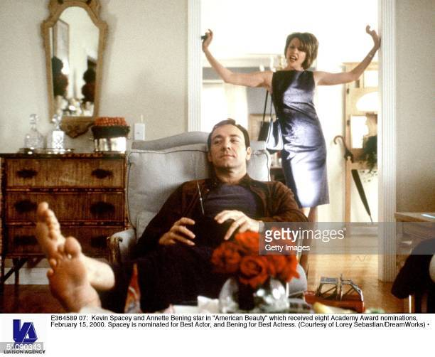 Kevin Spacey And Annette Bening Star In 'American Beauty' Which Received Eight Academy Award Nominations February 15 2000 Spacey Is Nominated For...