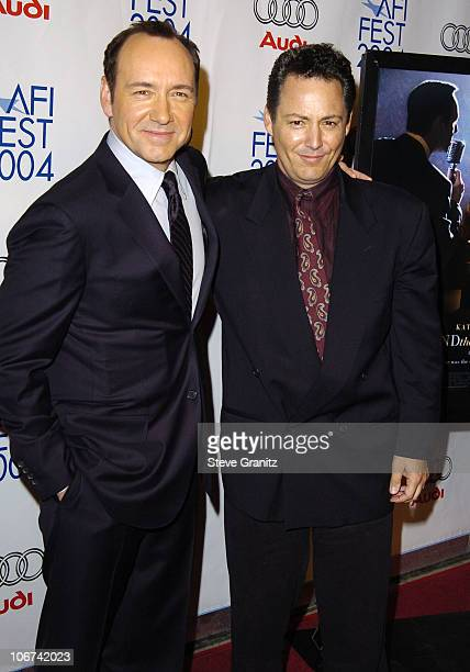 Kevin Spacey and Dodd Darin during 2004 AFI Film Festival Beyond The Sea Premiere Opening Night Gala Arrivals at Cinerama Dome in Los Angeles...