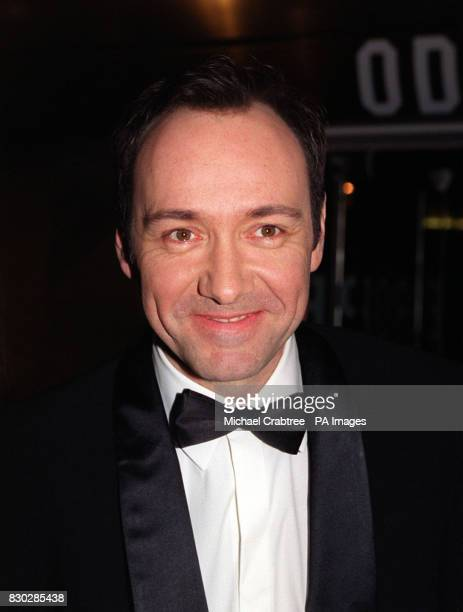 Kevin Spacey at the closing night gala of The London Film Festival for the European premiere of Sam Mendes' cinematic debut American Beauty featuring...