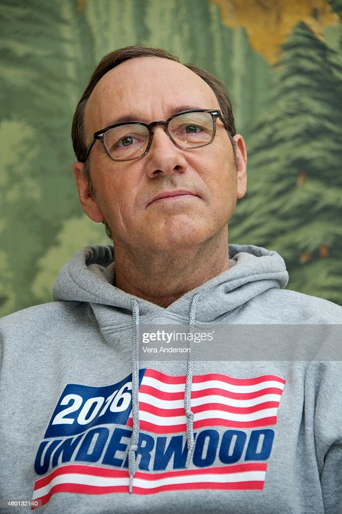 Kevin Spacey at the 'House Of Cards' Press Conference at The London Hotel on December 5, 2014 in New York City.