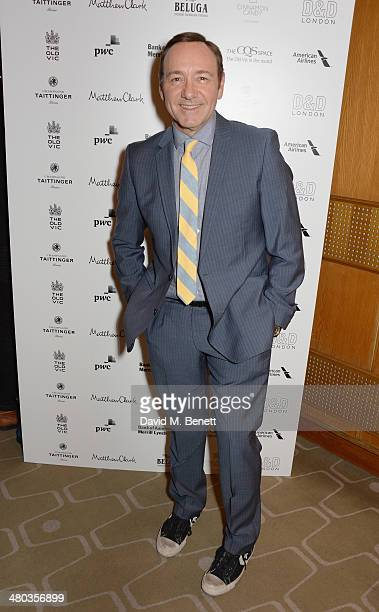 Kevin Spacey attends an after party celebrating the press night performance of The Old Vic's Other Desert Cities at Skylon Grill on March 24 2014 in...